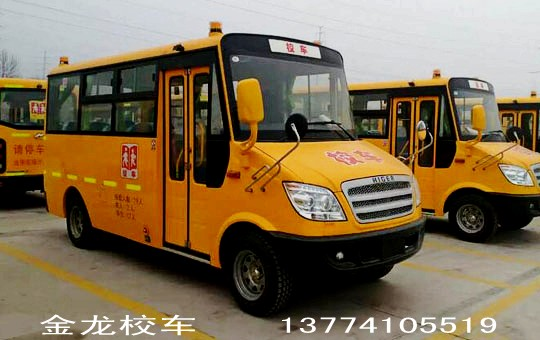 金龙海格19座幼儿园校车(汽油版)